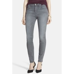 Madewell Skinny high Riser in Dusty Wash